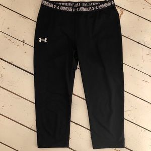 Under Armour Capri black leggings